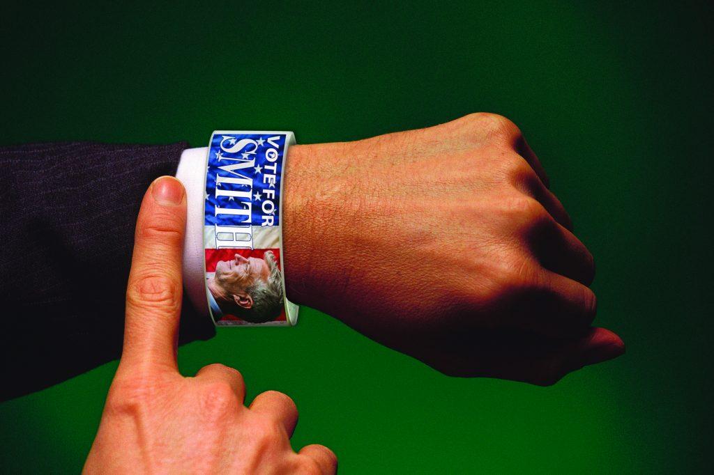 campaign wristbands